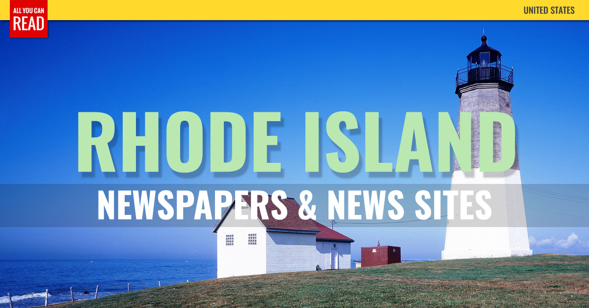 Magazines And Newspapers In Rhode Island