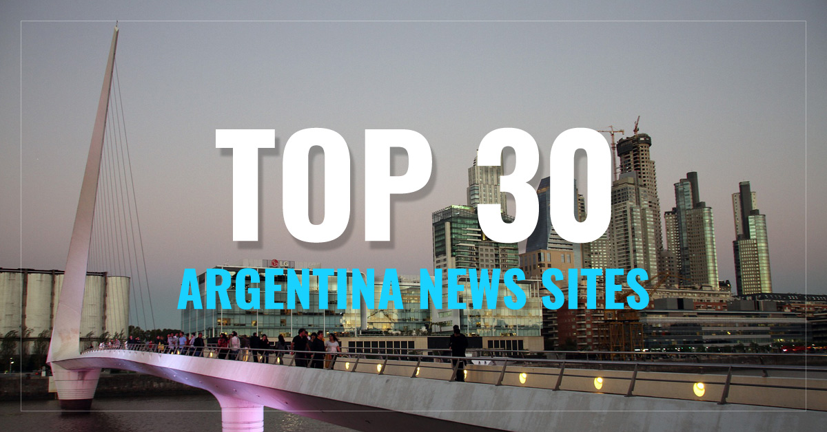 Top 30 Argentina Newspapers & News Media