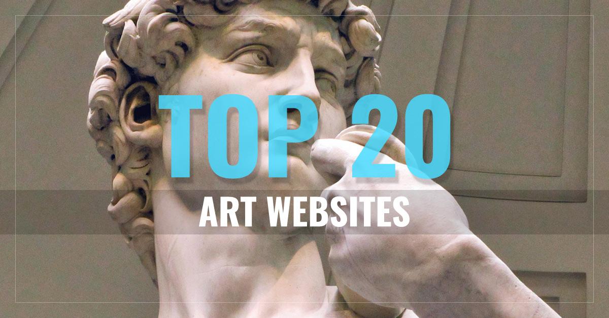 Top 20 Arts Websites