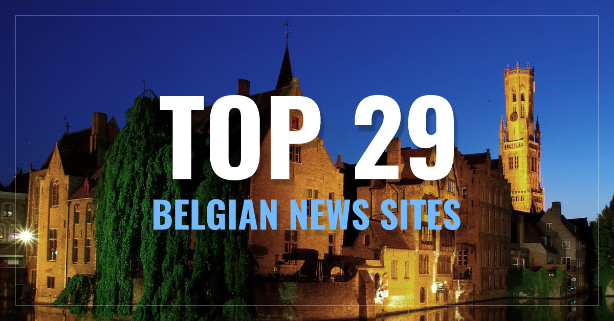 Top 29 Belgium Newspapers & News Media