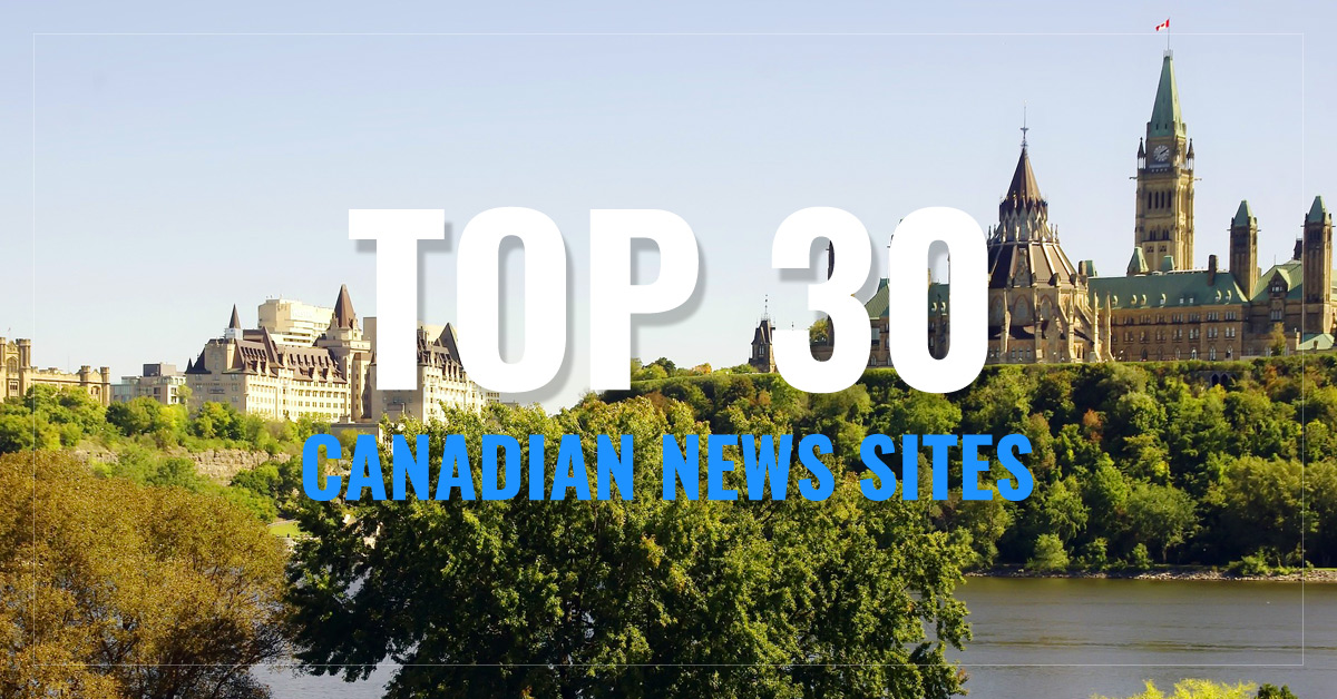 Top 30 Canada Newspapers & News Media