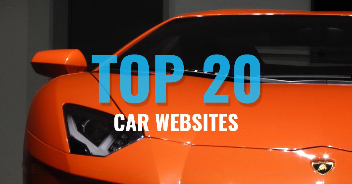Top 20 Car Websites