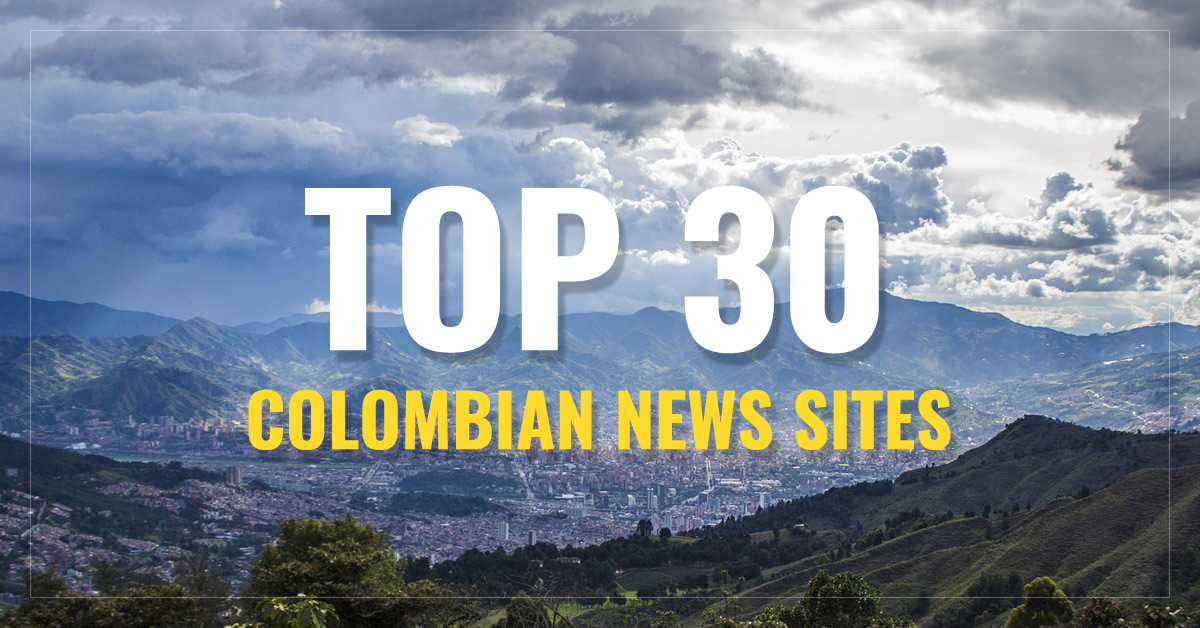 Top 30  Colombia Newspapers & News Media