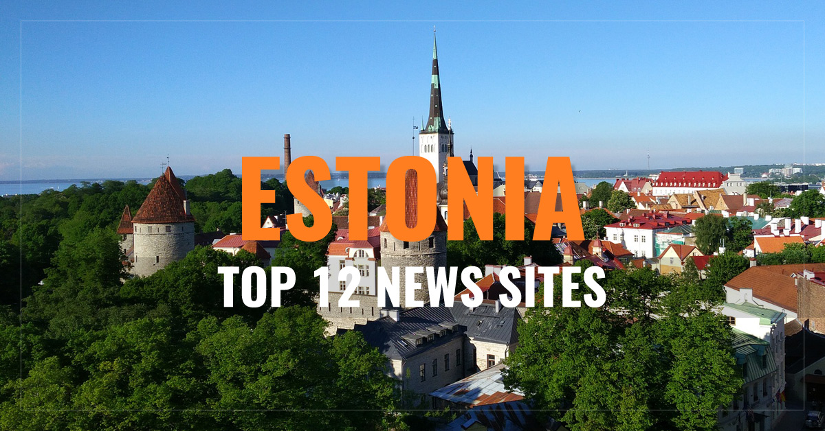 Top 12 Estonian Newspapers & News Media
