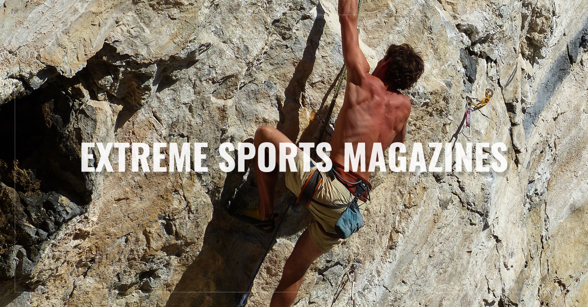 Best Extreme Sports Magazines  -  Surfer,  Scuba Diving,  Climbing,  American Snowmobiler and more  - AllYouCanRead.com