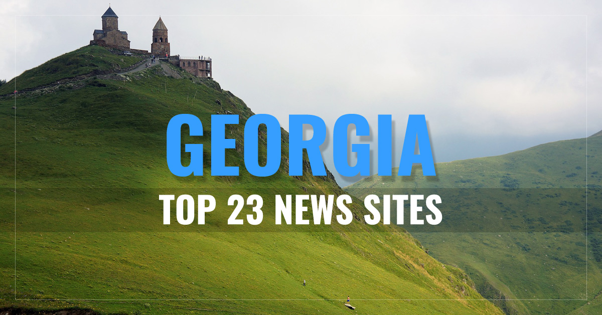 Top 23 Georgian Newspapers & News Media