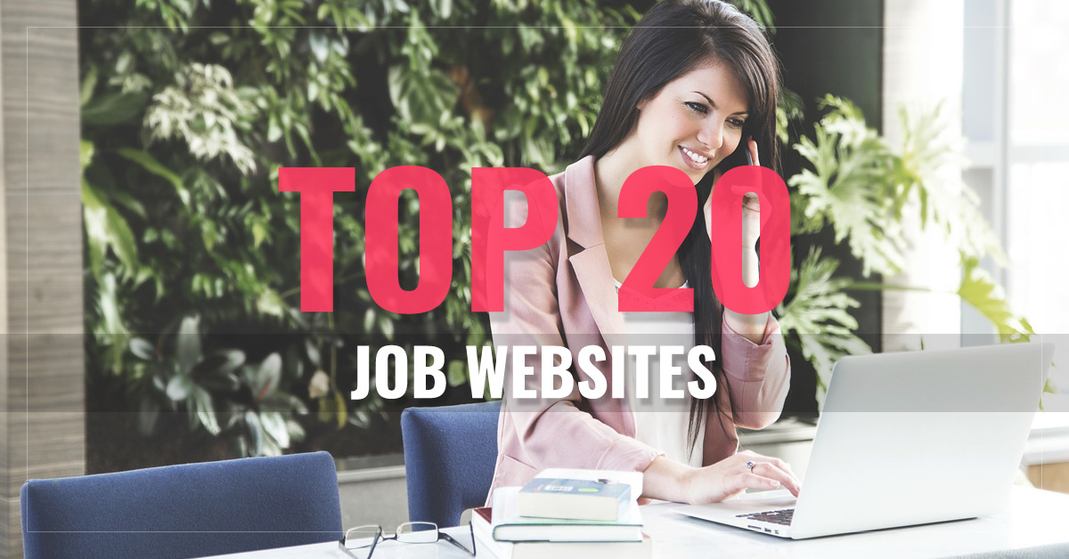 Top 20 Jobs, Freelancing & Career Websites