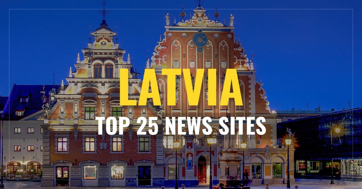 Top 25 Latvian Newspapers & News Media