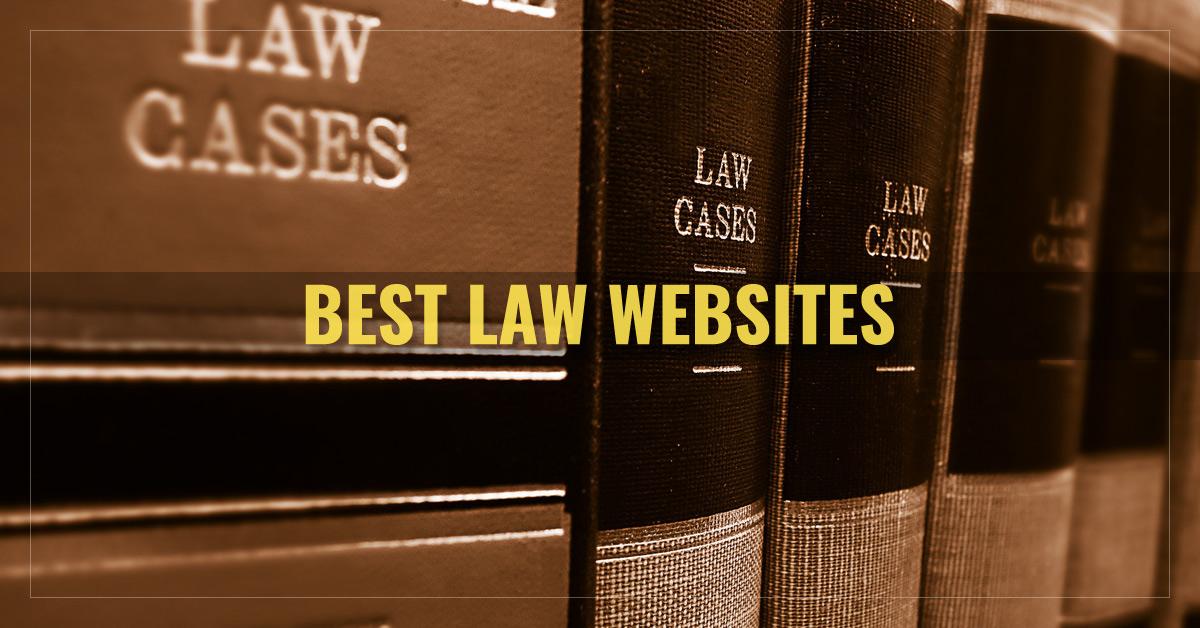 Top 10 Law Websites