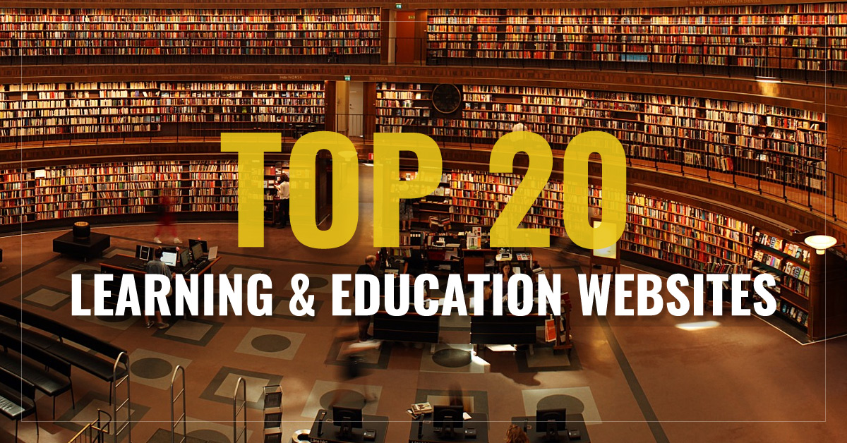 Top 20 Learning & Education Websites