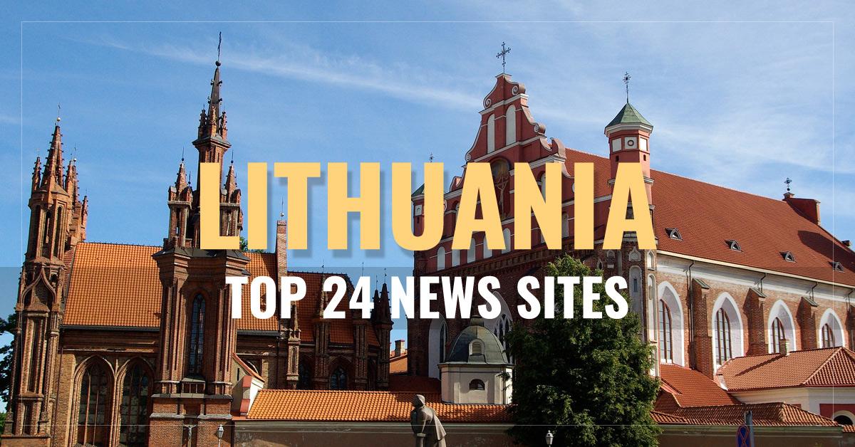 Top 24 Lithuanian Newspapers & News Media