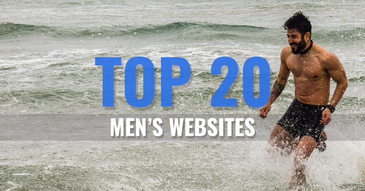 Top 20 Men's Websites