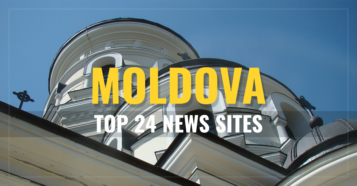 Top 24 Moldova Newspapers & News Media