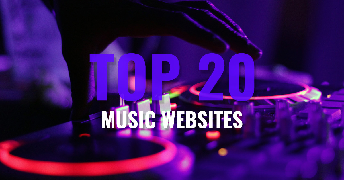 Top 20 Music Websites