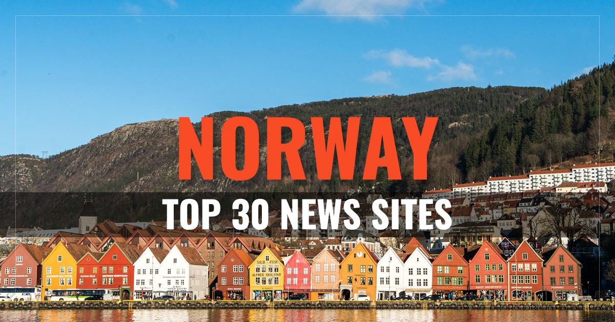 Top 30 Norway Newspapers & News Media