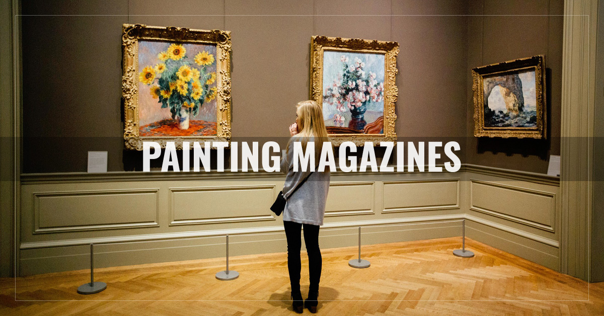 Best Painting Magazines  -  Drawing,  Leisure Painter,  The Artist,  PleinAir and more  - AllYouCanRead.com