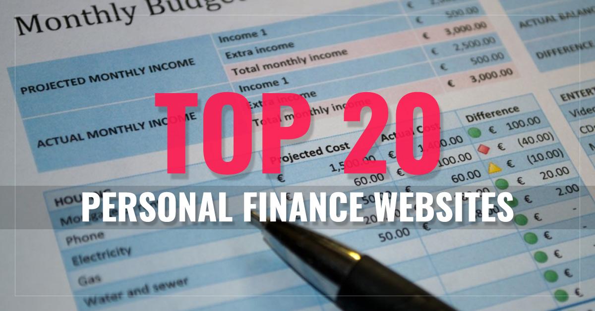 Top 20 Personal Finance Websites