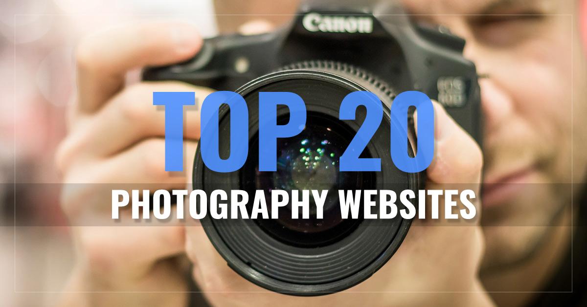 Top 20 Photography Websites
