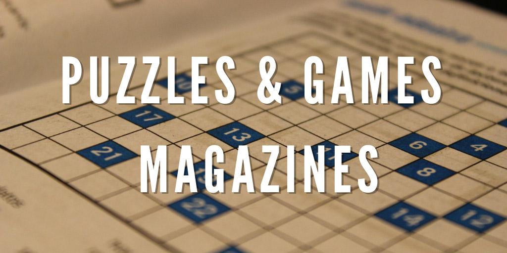 Puzzles & Games Magazines