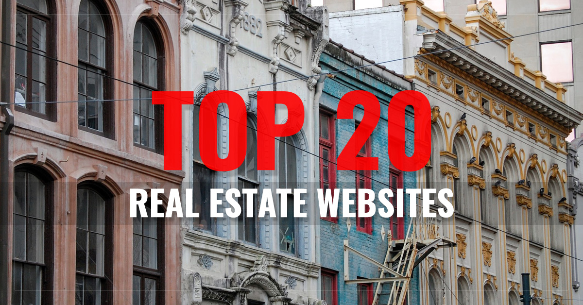 Top 20 Real Estate Websites