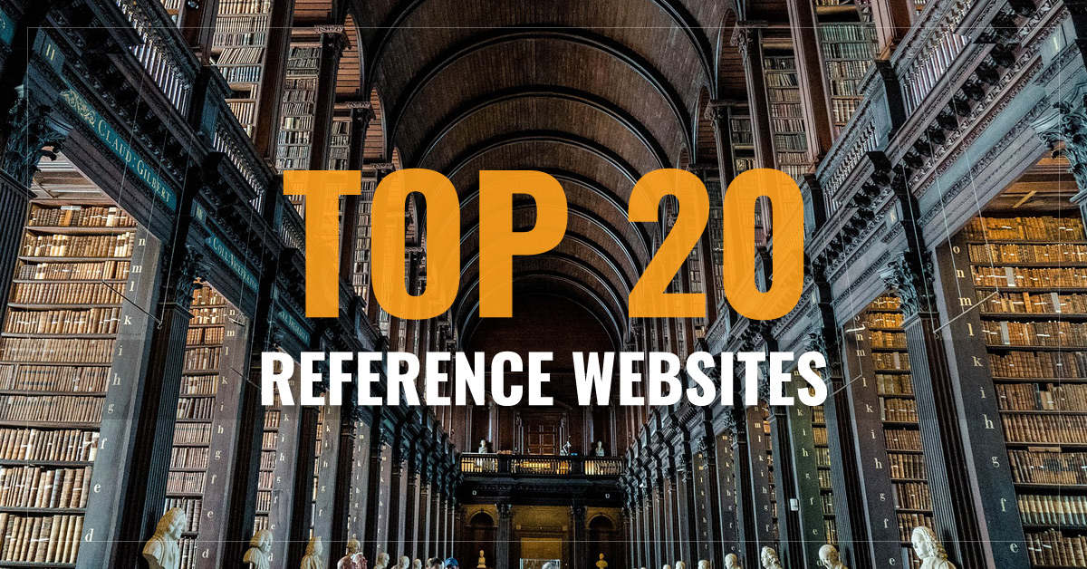Top 20 Reference Websites