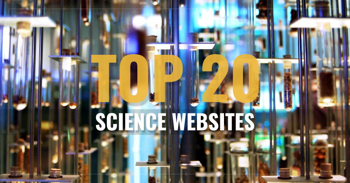 Top 20 Science Websites