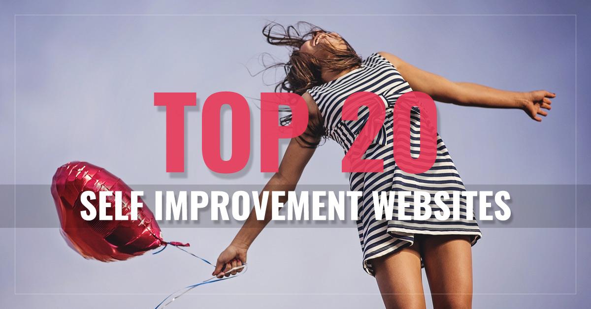 Top 20 Self Improvement Websites