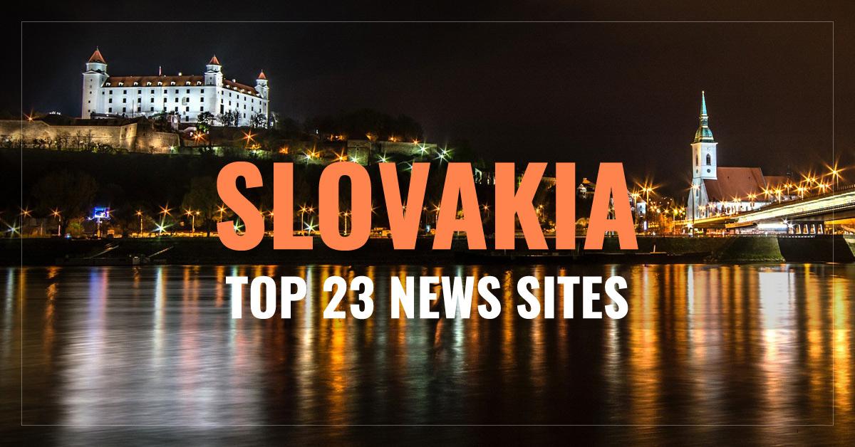 Top 23 Slovak Newspapers & News Media