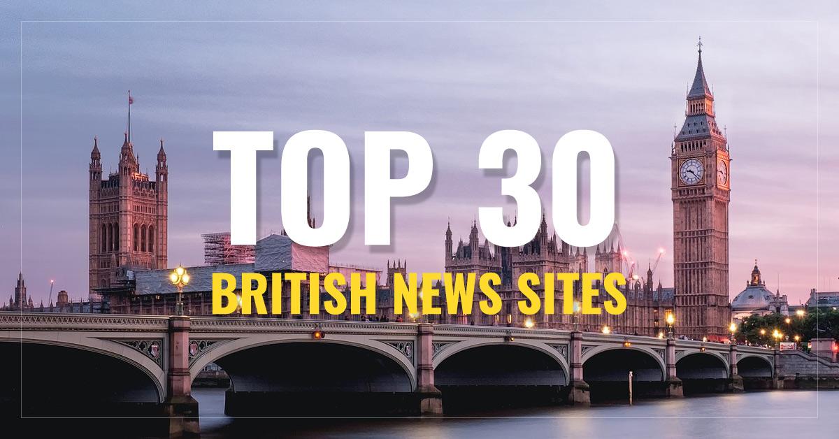 Top 30 UK Newspapers & News Media