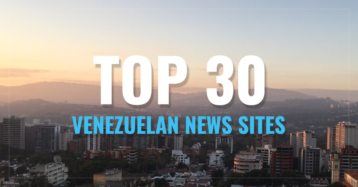 Top 30 Venezuela Newspapers & News Media