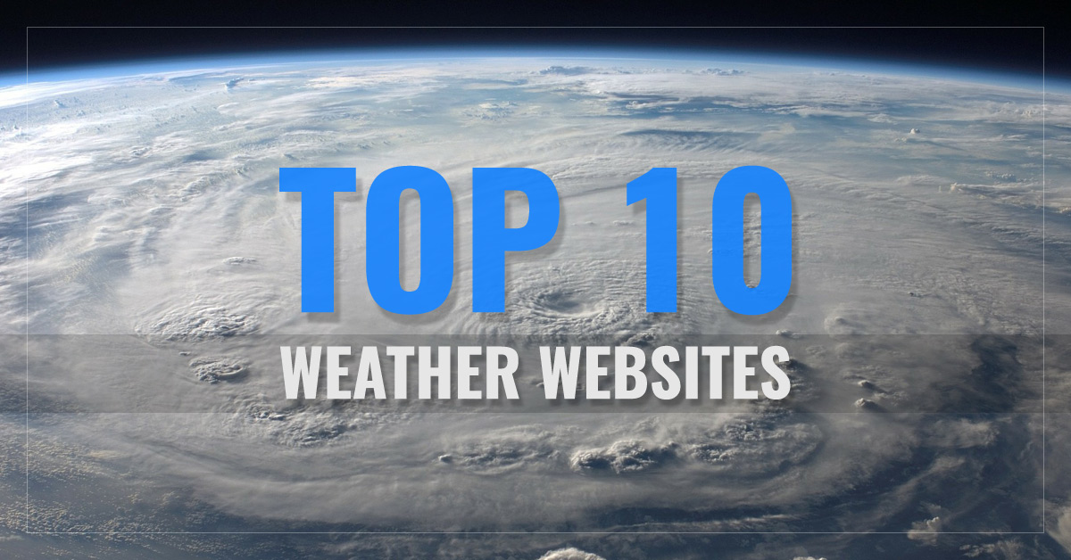 Top 10 Weather Websites