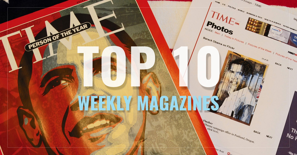 Top 10 Weekly Magazines  -  Bloomberg Businessweek,  Time,  People,  Entertainment Weekly and more  - AllYouCanRead.com