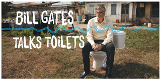 Bill Gates talks toilets - Bill Gates