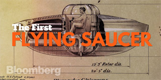 The First Flying Saucer - Bloomberg