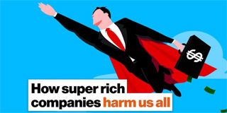 How super rich companies harm us all - Big Think