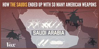 How the Saudis ended up with so many American weapons