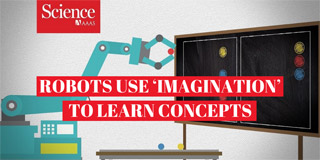 Robots - like people- use 'imagination' to learn concepts