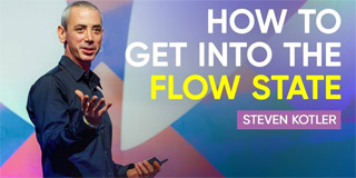 How To Get Into The Flow State - Steven Kotler