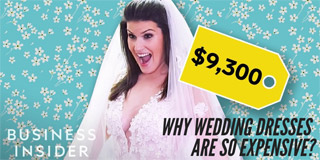 Why Wedding Dresses Are So Expensive - Business Insider