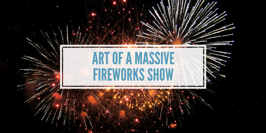Art of a Massive Fireworks Show - Wired