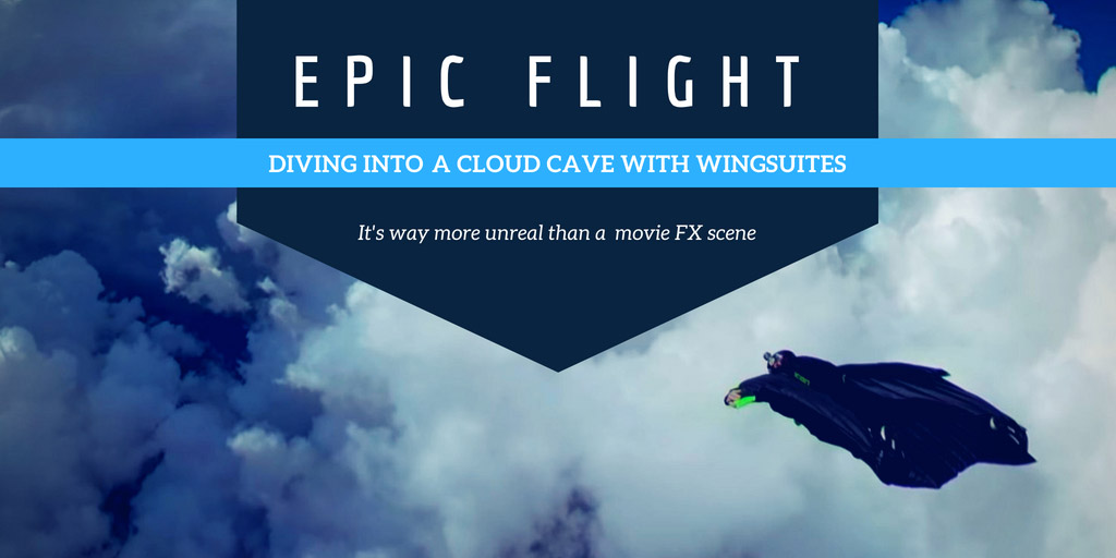 Epic flight with wingsuites