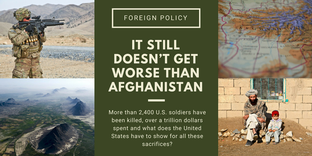 It Still Doesn't Get Worse Than Afghanistan - Foreign Policy