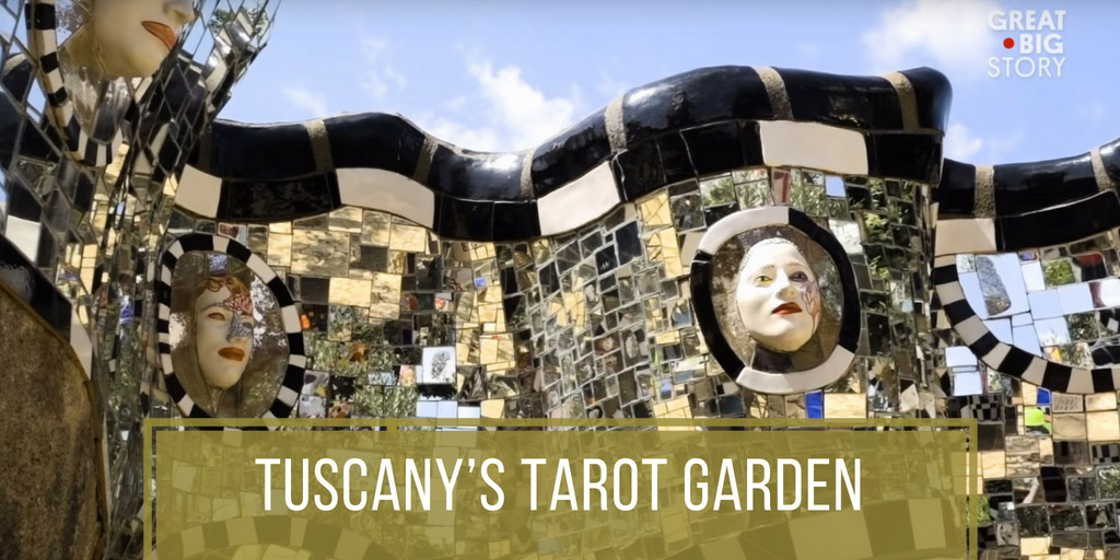 Tuscany's Tarot Garden - Great Big Story