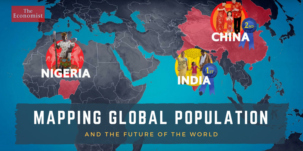 Mapping global population and the future of the world