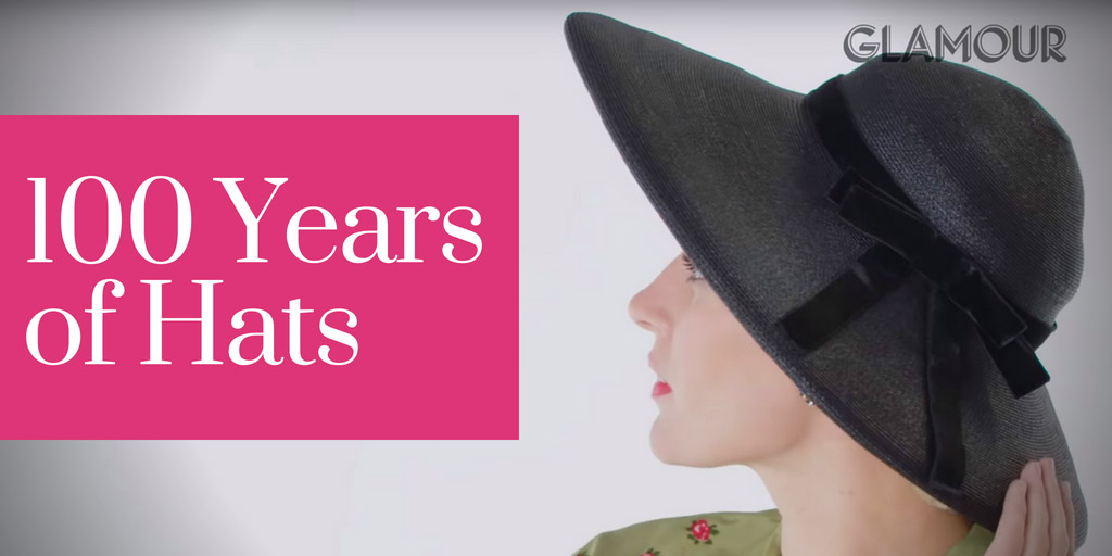 100 Years of Hats - Glamour