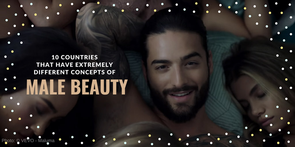 10 Countries That Have Extremely Different Concepts of Male Beauty - Bright Side