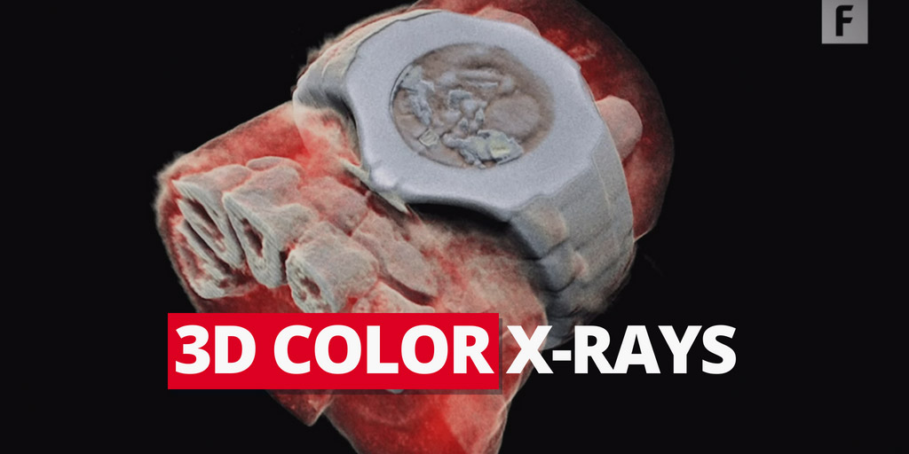 3D Color X-rays - Futurism