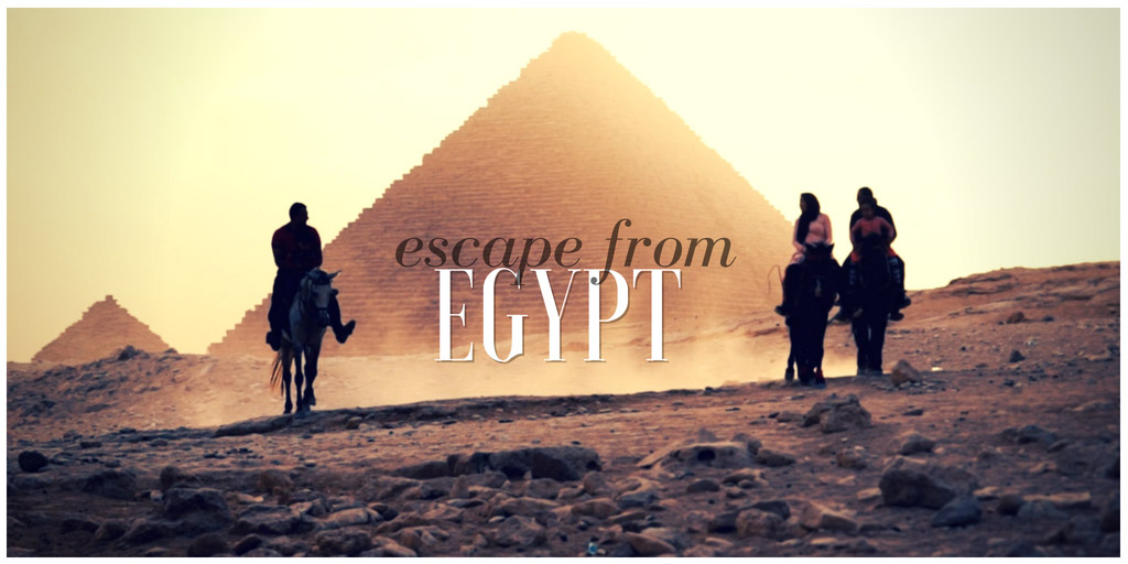 Escape the Egypt - Nhi Dang