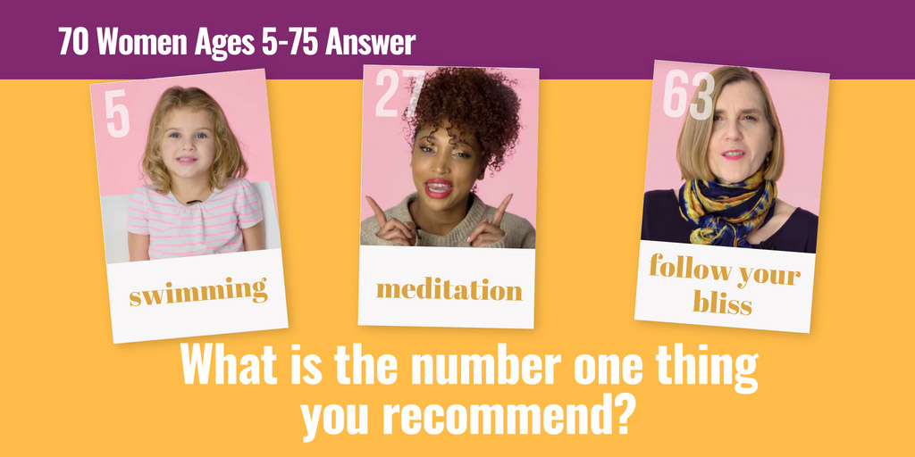 70 Women Ages 5-75 Answer: What's Your #1 Recommendation? - Glamour