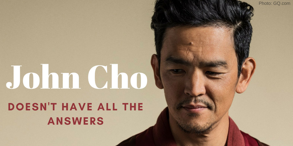 John Cho Doesn't Have All the Answers - GQ
